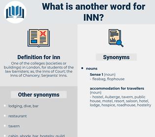 inn, synonym inn, another word for inn, words like inn, thesaurus inn