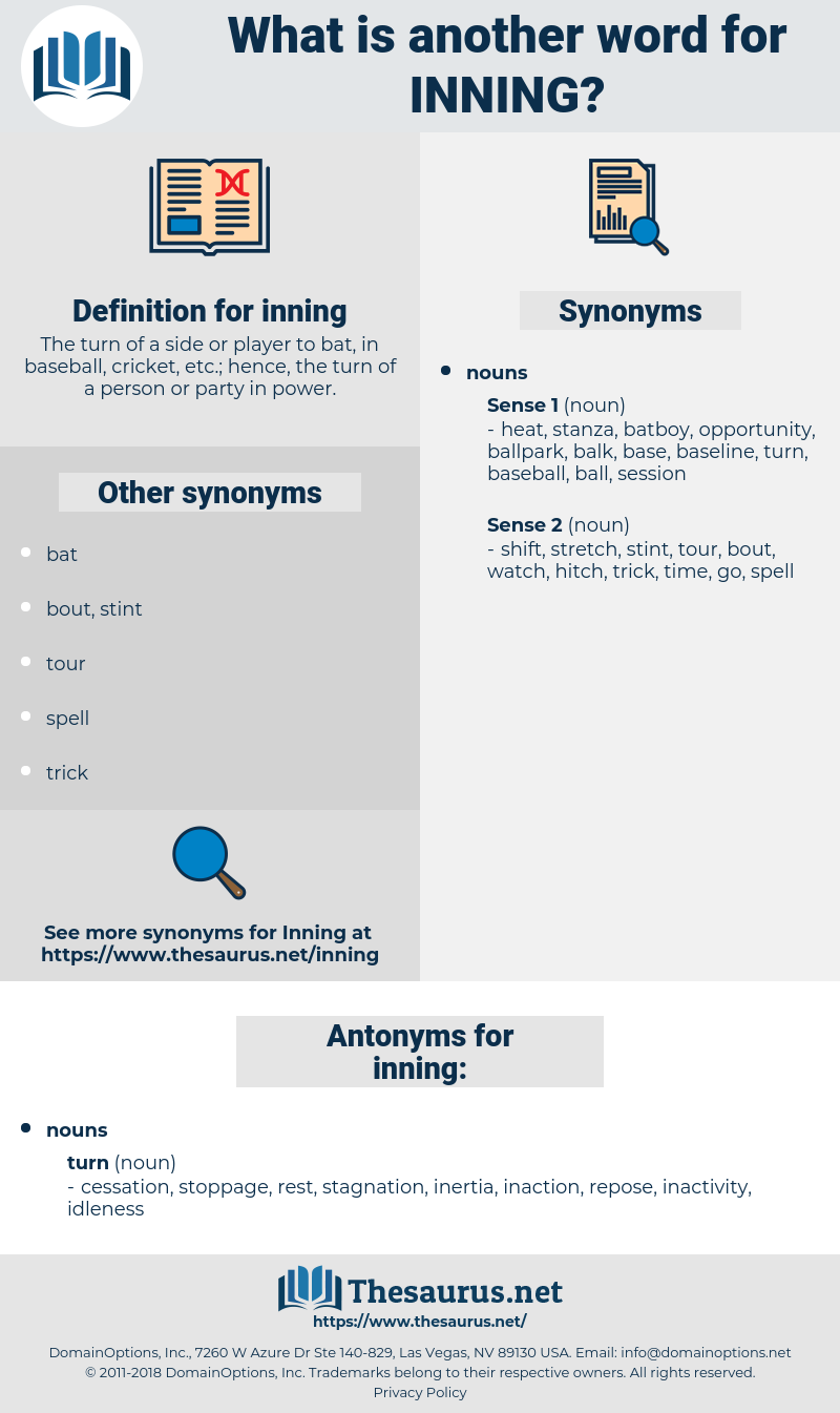 inning, synonym inning, another word for inning, words like inning, thesaurus inning
