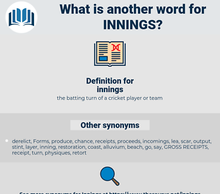 innings, synonym innings, another word for innings, words like innings, thesaurus innings