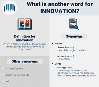 innovation, synonym innovation, another word for innovation, words like innovation, thesaurus innovation