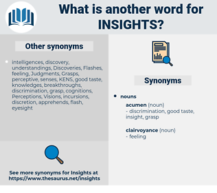 insights, synonym insights, another word for insights, words like insights, thesaurus insights