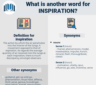 inspiration, synonym inspiration, another word for inspiration, words like inspiration, thesaurus inspiration