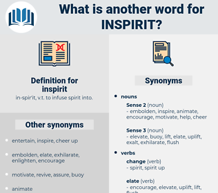inspirit, synonym inspirit, another word for inspirit, words like inspirit, thesaurus inspirit