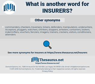 Insurers, synonym Insurers, another word for Insurers, words like Insurers, thesaurus Insurers