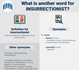 insurrectionist, synonym insurrectionist, another word for insurrectionist, words like insurrectionist, thesaurus insurrectionist