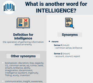 intelligence, synonym intelligence, another word for intelligence, words like intelligence, thesaurus intelligence