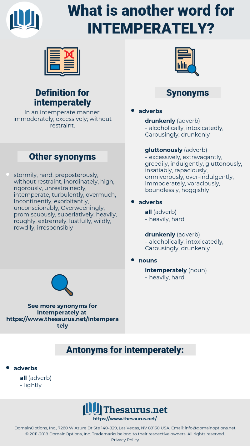 intemperately, synonym intemperately, another word for intemperately, words like intemperately, thesaurus intemperately