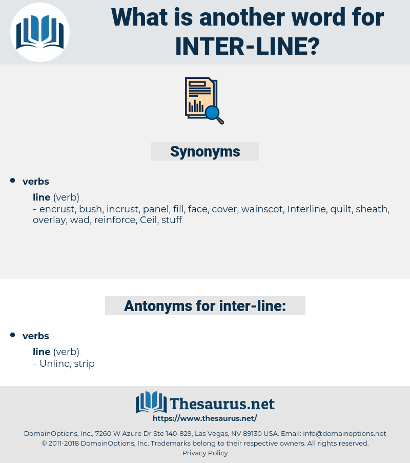 inter line, synonym inter line, another word for inter line, words like inter line, thesaurus inter line