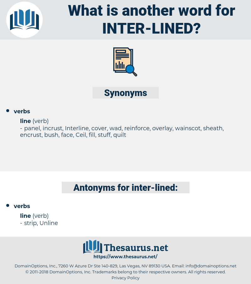 inter lined, synonym inter lined, another word for inter lined, words like inter lined, thesaurus inter lined
