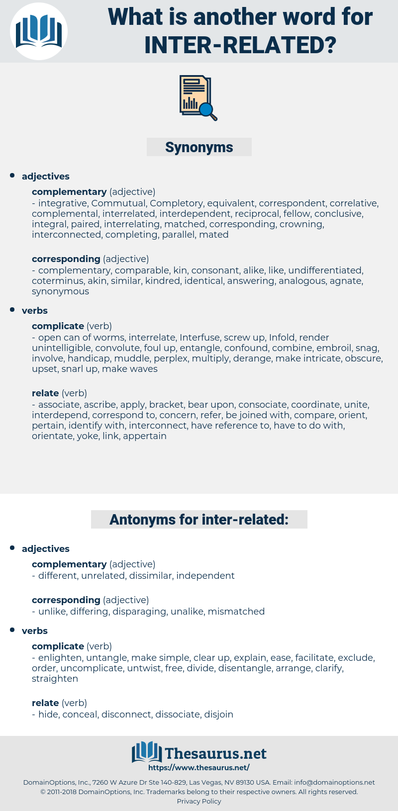 inter-related, synonym inter-related, another word for inter-related, words like inter-related, thesaurus inter-related