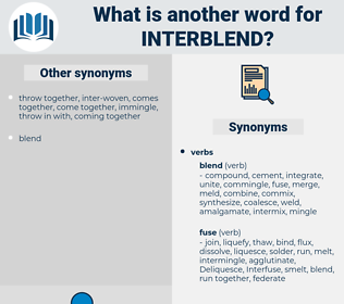 interblend, synonym interblend, another word for interblend, words like interblend, thesaurus interblend