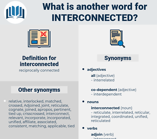 interconnected, synonym interconnected, another word for interconnected, words like interconnected, thesaurus interconnected