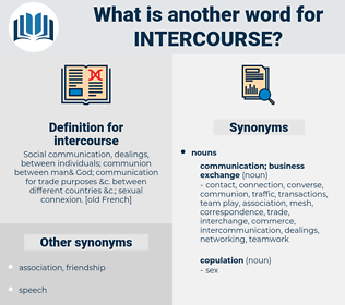 intercourse, synonym intercourse, another word for intercourse, words like intercourse, thesaurus intercourse