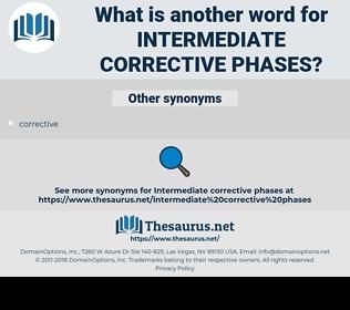 intermediate corrective phases, synonym intermediate corrective phases, another word for intermediate corrective phases, words like intermediate corrective phases, thesaurus intermediate corrective phases