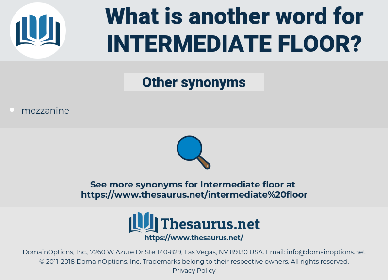 intermediate floor, synonym intermediate floor, another word for intermediate floor, words like intermediate floor, thesaurus intermediate floor