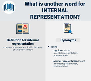 internal representation, synonym internal representation, another word for internal representation, words like internal representation, thesaurus internal representation