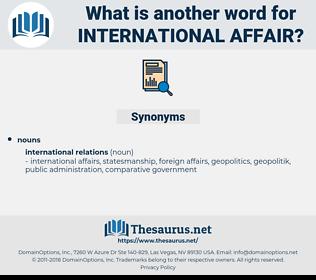 international affair, synonym international affair, another word for international affair, words like international affair, thesaurus international affair