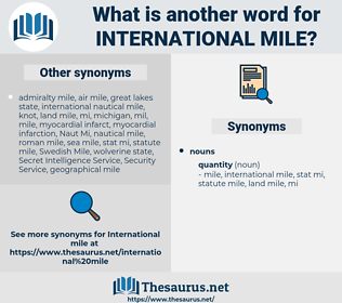international mile, synonym international mile, another word for international mile, words like international mile, thesaurus international mile