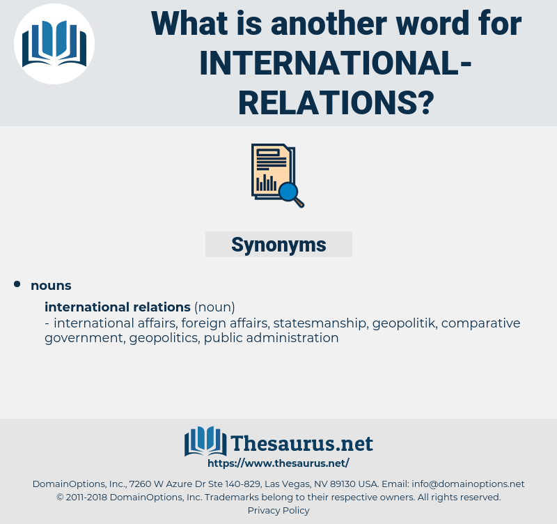 international relations, synonym international relations, another word for international relations, words like international relations, thesaurus international relations