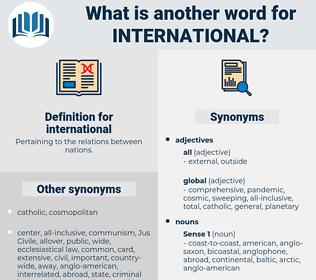 international, synonym international, another word for international, words like international, thesaurus international