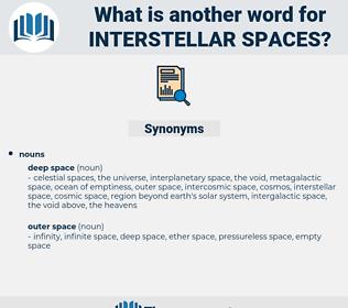interstellar spaces, synonym interstellar spaces, another word for interstellar spaces, words like interstellar spaces, thesaurus interstellar spaces