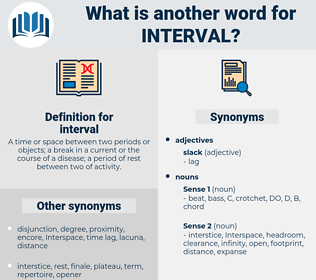 interval, synonym interval, another word for interval, words like interval, thesaurus interval