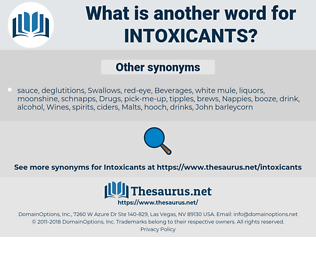 intoxicants, synonym intoxicants, another word for intoxicants, words like intoxicants, thesaurus intoxicants