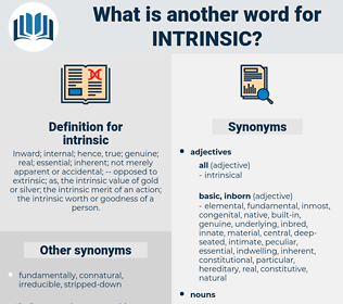 intrinsic, synonym intrinsic, another word for intrinsic, words like intrinsic, thesaurus intrinsic