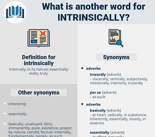 intrinsically, synonym intrinsically, another word for intrinsically, words like intrinsically, thesaurus intrinsically