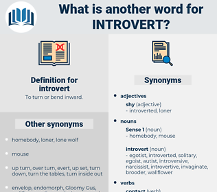 introvert, synonym introvert, another word for introvert, words like introvert, thesaurus introvert