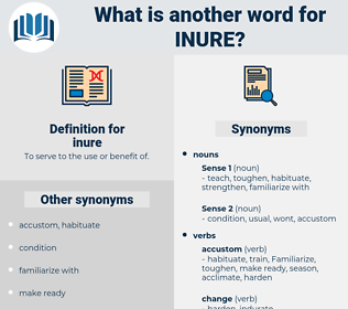 inure, synonym inure, another word for inure, words like inure, thesaurus inure