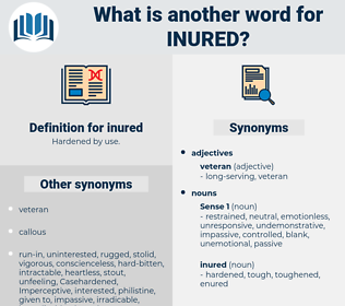inured, synonym inured, another word for inured, words like inured, thesaurus inured