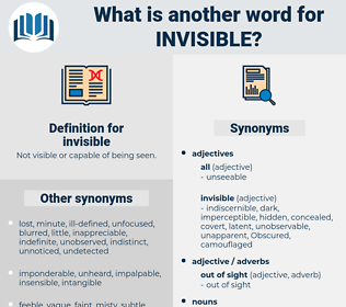 invisible, synonym invisible, another word for invisible, words like invisible, thesaurus invisible