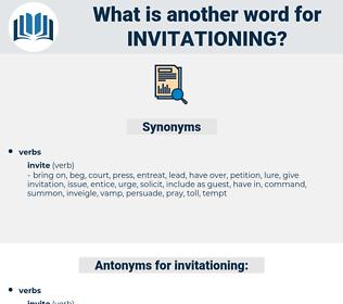 invitationing, synonym invitationing, another word for invitationing, words like invitationing, thesaurus invitationing