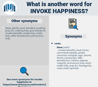 invoke happiness, synonym invoke happiness, another word for invoke happiness, words like invoke happiness, thesaurus invoke happiness