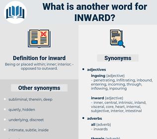 inward, synonym inward, another word for inward, words like inward, thesaurus inward
