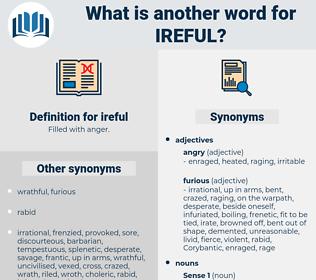 ireful, synonym ireful, another word for ireful, words like ireful, thesaurus ireful