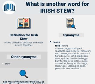 Irish Stew, synonym Irish Stew, another word for Irish Stew, words like Irish Stew, thesaurus Irish Stew