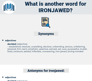 ironjawed, synonym ironjawed, another word for ironjawed, words like ironjawed, thesaurus ironjawed