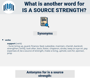 is a source strength, synonym is a source strength, another word for is a source strength, words like is a source strength, thesaurus is a source strength