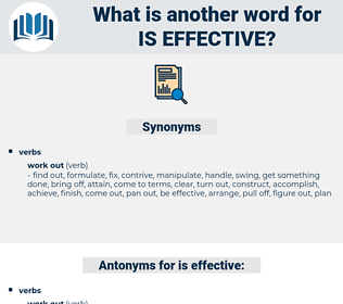 is effective, synonym is effective, another word for is effective, words like is effective, thesaurus is effective