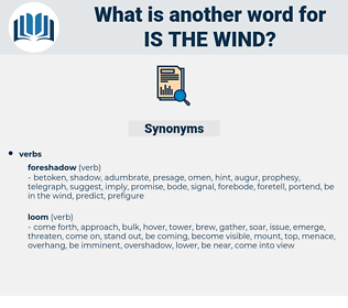 is the wind, synonym is the wind, another word for is the wind, words like is the wind, thesaurus is the wind