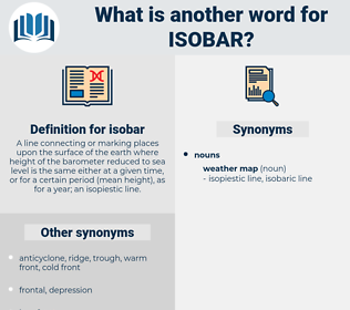 isobar, synonym isobar, another word for isobar, words like isobar, thesaurus isobar