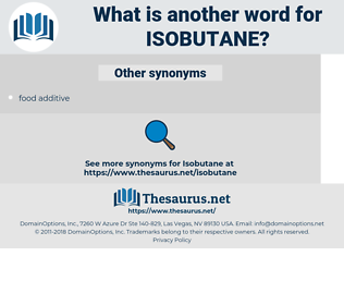 isobutane, synonym isobutane, another word for isobutane, words like isobutane, thesaurus isobutane