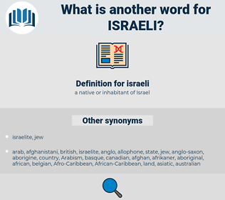 israeli, synonym israeli, another word for israeli, words like israeli, thesaurus israeli
