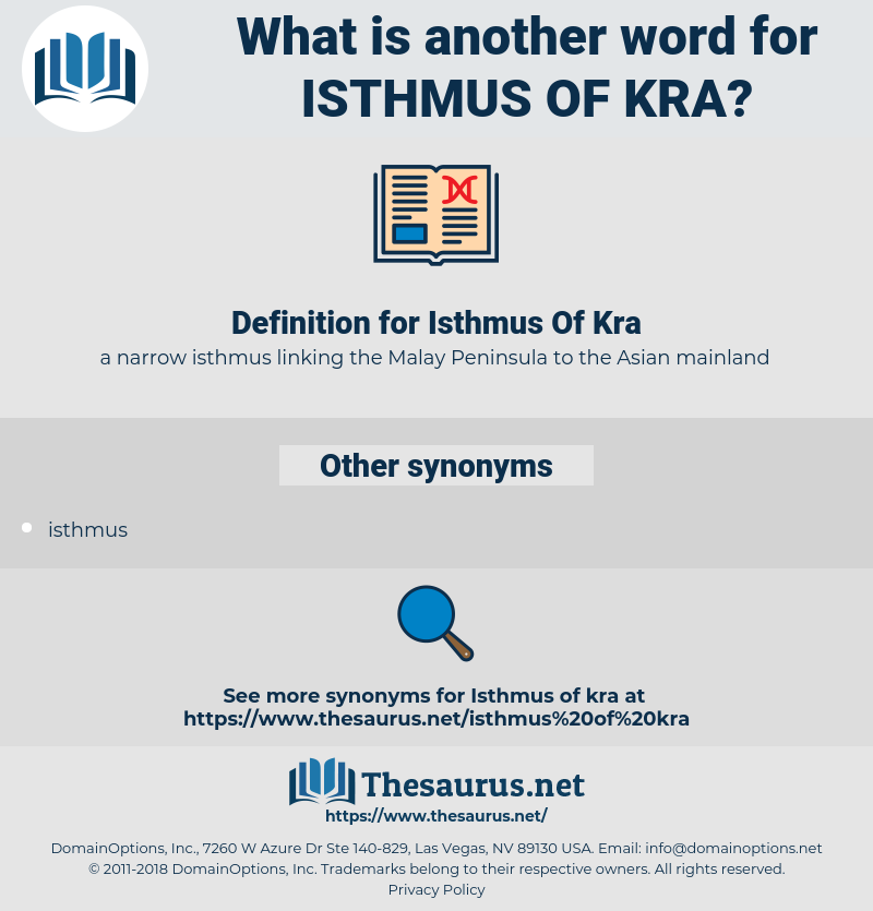 Isthmus Of Kra, synonym Isthmus Of Kra, another word for Isthmus Of Kra, words like Isthmus Of Kra, thesaurus Isthmus Of Kra