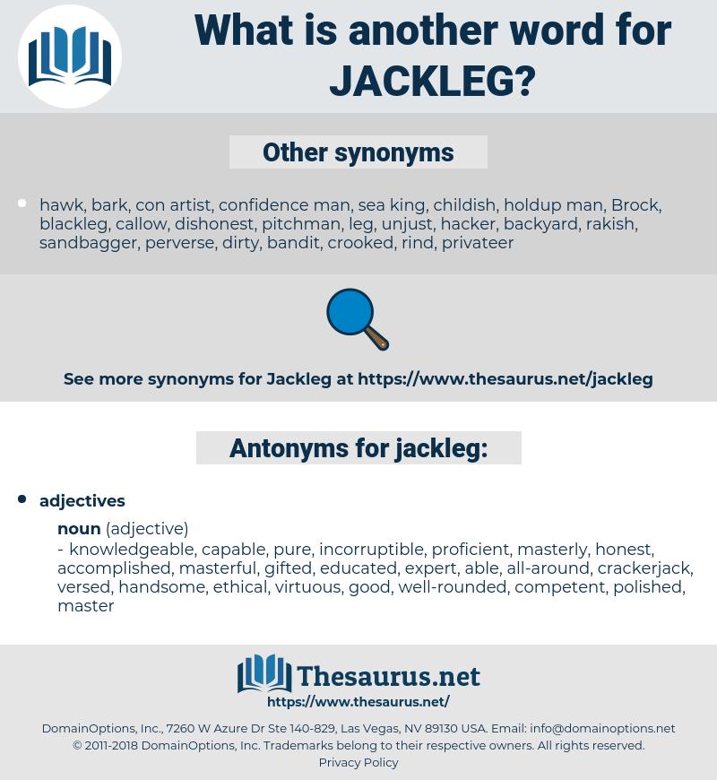 jackleg, synonym jackleg, another word for jackleg, words like jackleg, thesaurus jackleg