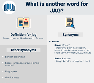 jag, synonym jag, another word for jag, words like jag, thesaurus jag