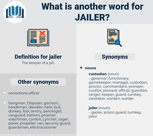 jailer, synonym jailer, another word for jailer, words like jailer, thesaurus jailer