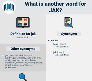 jak, synonym jak, another word for jak, words like jak, thesaurus jak